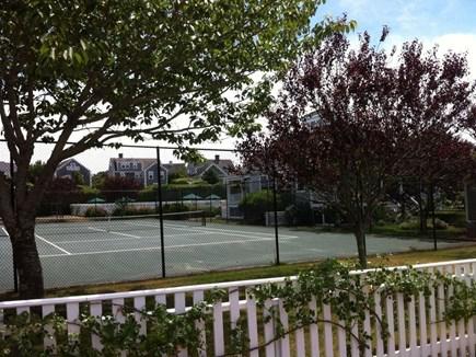 Mid-island Nantucket vacation rental - Tennis courts