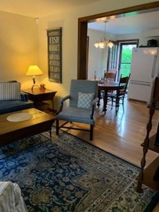 Mid-island Nantucket vacation rental - Living room