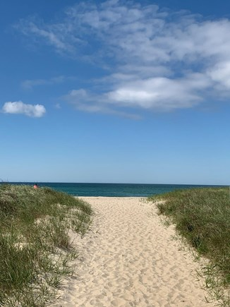 Madaket Nantucket vacation rental - Entrance to private beach 10-minute walk from the house.