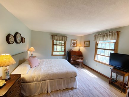 Madaket Nantucket vacation rental - Queen Bedroom with flat-screen tv