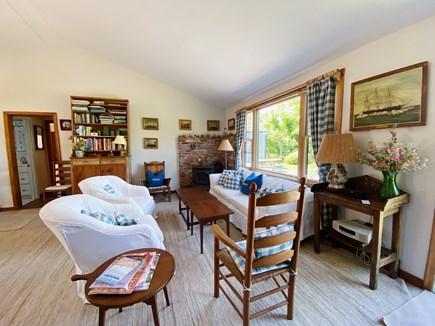 Madaket Nantucket vacation rental - Bright living room.
