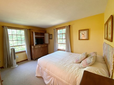 Madaket Nantucket vacation rental - Queen bedroom with flat screen TV