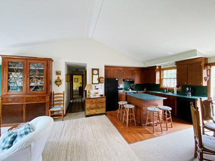 Madaket Nantucket vacation rental - Well equipped kitchen open to family room