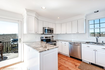 Tom Nevers Nantucket vacation rental - Modern granite kitchen is fully equipped for your needs.