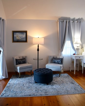 Tom Nevers Nantucket vacation rental - The master bedroom has a sitting area and an en suite bathroom.