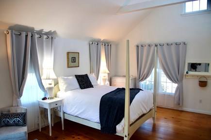 Tom Nevers Nantucket vacation rental - Comfortable queen bed is adjacent to the sitting area.