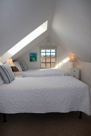 Tom Nevers Nantucket vacation rental - Cozy and bright loft area has 2 twin beds.