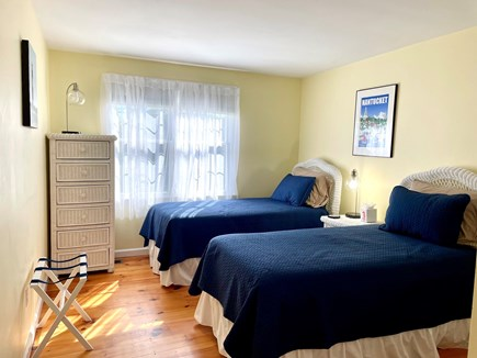 Tom Nevers Nantucket vacation rental - This quiet room has 2 twin beds with space for a crib if needed.