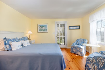 Tom Nevers Nantucket vacation rental - Beautifully appointed bedrooms each open to back patios.