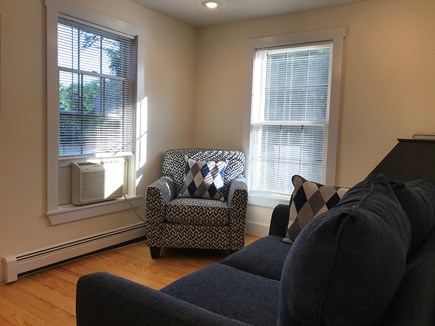 Surfside Nantucket vacation rental - Den with Love Seat and Cozy Chair + Desk/Work Area