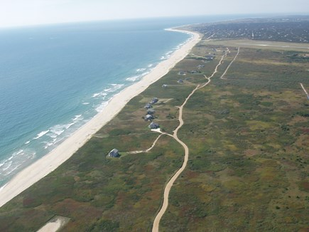 Madequecham Nantucket vacation rental - Aerial view. Our house is 5th from the bottom