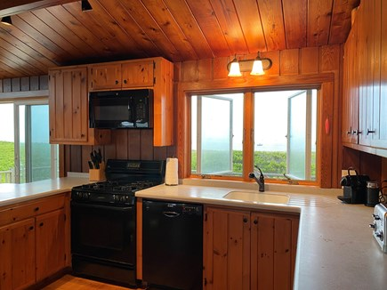 Madequecham Nantucket vacation rental - Modern, fully-stocked kitchen with gas range (new Aug. 2020).