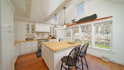 Nantucket town, Lincoln Circle Neighborhood Nantucket vacation rental - Country kitchen with butcher block counter tops.