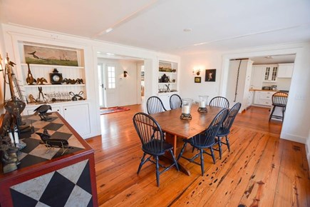 Nantucket town, Lincoln Circle Neighborhood Nantucket vacation rental - Formal dining area.