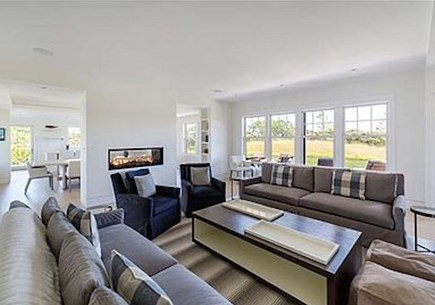 Tom Nevers Nantucket vacation rental - Our living and entertaining room with gas fireplace