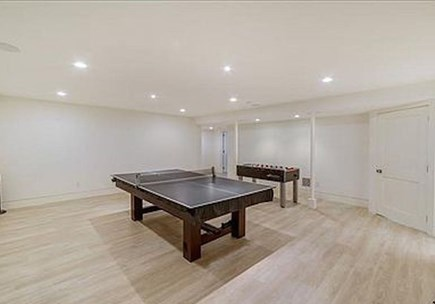Tom Nevers Nantucket vacation rental - Game room with pool table, ping pong and fusball
