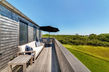 Tom Nevers Nantucket vacation rental - Patio off of the second floor with beautiful views