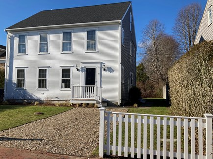 Mid-island, Naushop Nantucket vacation rental - Front of home - with ease of access to bike paths
