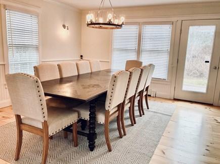 Mid-island, Naushop Nantucket vacation rental - Elegant dining room, seating 10 people
