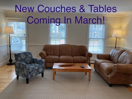 Mid-island, Naushop Nantucket vacation rental - Still under renovation!  Living room flows nicely to dining room
