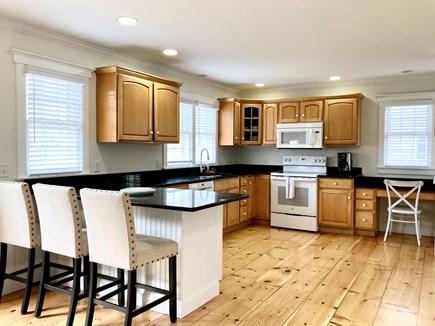 Mid-island, Naushop Nantucket vacation rental - Large and open kitchen!