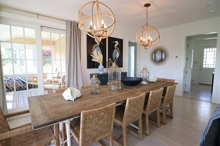 Brant Point Nantucket vacation rental - Large dining table