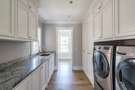 Nantucket town, Cliff area Nantucket vacation rental - There is a washer and dryer on each level.