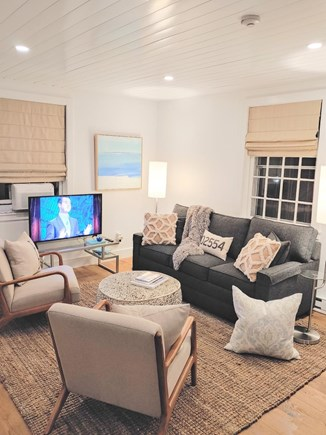 Nantucket town, Town Center Nantucket vacation rental - Living room with high speed wifi smart TV