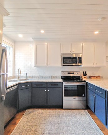 Nantucket town, Town Center Nantucket vacation rental - Kitchen with quartz counters