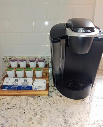 Nantucket town, Town Center Nantucket vacation rental - Coffee station