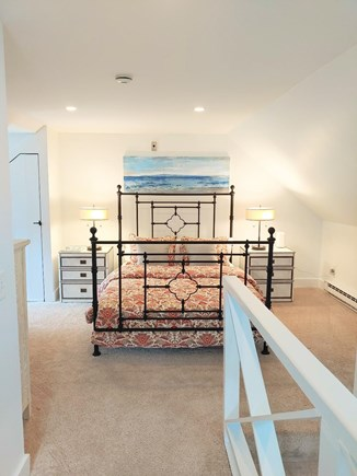 Nantucket town, Town Center Nantucket vacation rental - Top of the stairs entering the bedroom