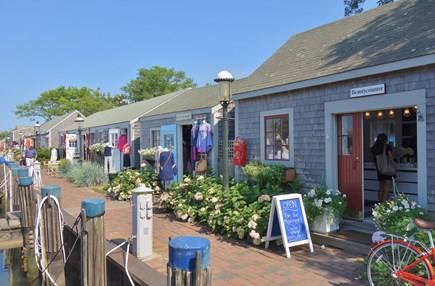 Nantucket town, Town Center Nantucket vacation rental - Quaint Island shops line the wharf