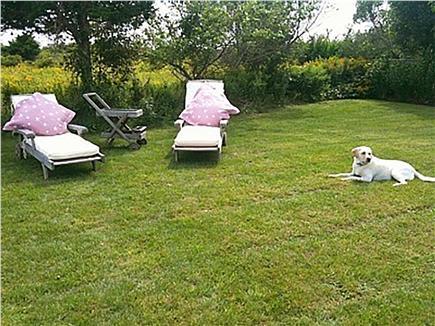 Siasconset Nantucket vacation rental - Back Yard