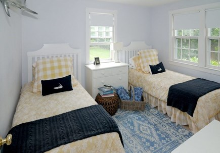 Siasconset Nantucket vacation rental - 3rd Bdrm w/ 2 Twins- Beautiful/Bright Guest Room, Any Age/Gender