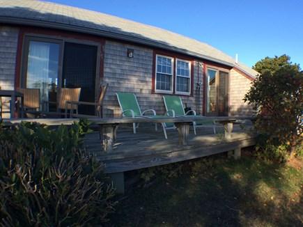 Madaket, 741 Nantucket vacation rental - Deck