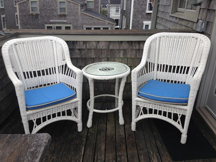 Nantucket town Nantucket vacation rental - Deck