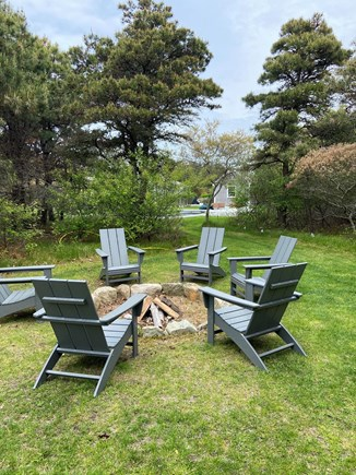 Surfside Nantucket vacation rental - Private fire pit area