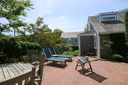 Nantucket town Nantucket vacation rental - Relax outside after a long day at the beach.