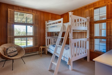 Squam Head Nantucket vacation rental - Guest Room with Twin Bunks