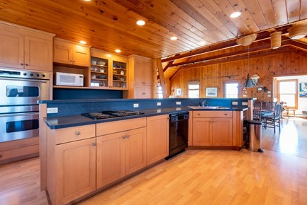 Squam Head Nantucket vacation rental - Kitchen with Island Eatery