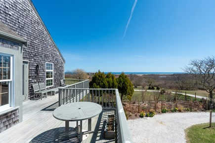 Squam Head Nantucket vacation rental - Outdoor Living Space with Views to the Atlantic Ocean
