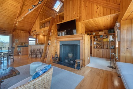 Squam Head Nantucket vacation rental - Great Room Open Living Space