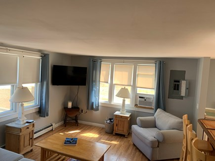 Nantucket town Nantucket vacation rental - Spacious living room with window AC unit.