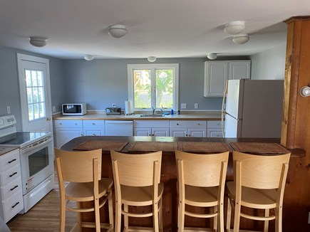 Nantucket town Nantucket vacation rental - Eating area at counter with stools.