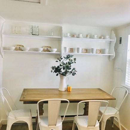 Nantucket town Nantucket vacation rental - Dining area