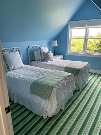 Nantucket town Nantucket vacation rental - Second floor twin room with remote blinds