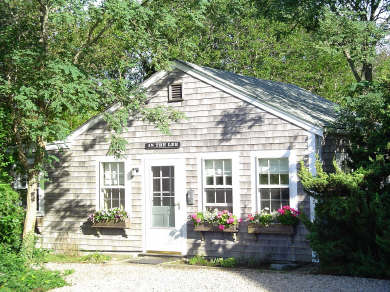 Nantucket Town Nantucket vacation rental - Secluded home faces Old Mill, a quiet, working windmill.