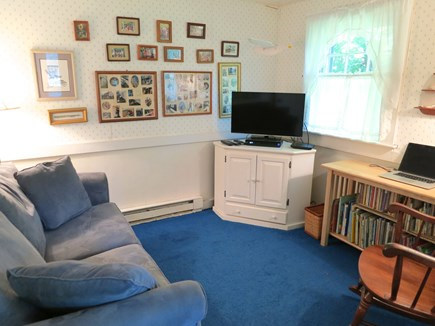Nantucket town Nantucket vacation rental - Cozy Den / Playroom (with sofa bed)