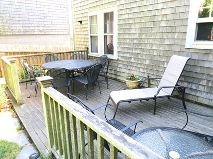 Nantucket town Nantucket vacation rental - Deck