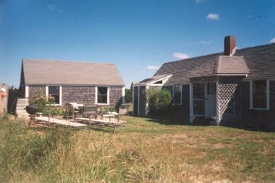 Surfside Nantucket Nantucket vacation rental - Side yard and patio